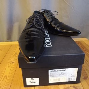 Dolce & Gabbana Shoes - Dolce & Gabbana Black Pointy Patent Leather 11